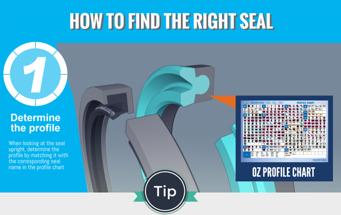 How to Find the Right Seal in 3 Steps [Infographic]