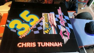C & S Tigger Team Racing Car Top Body