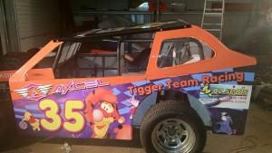 C & S Tigger Team Racing Car Left Body