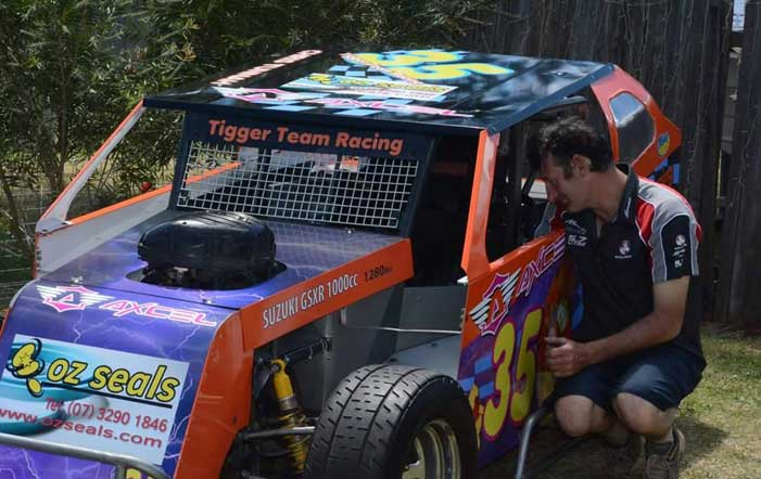 Excellent Example of Resilience: Tigger Team Racing Bounces Back