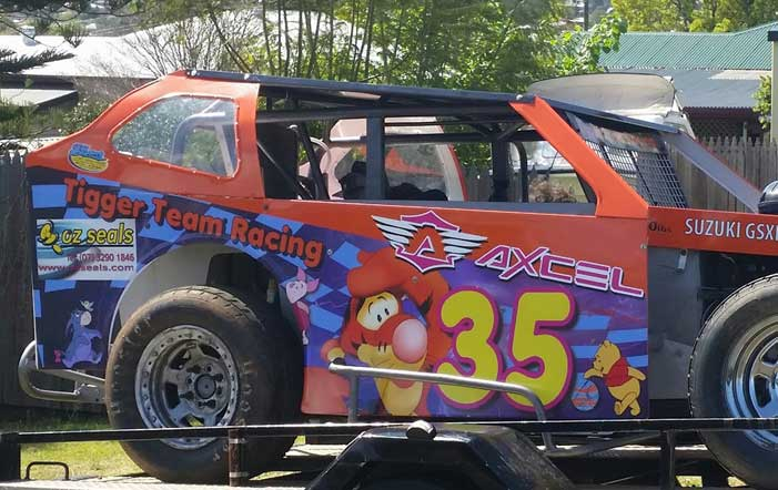 Oz Seals Are Proud Supporters of C & S Tigger Team Racing