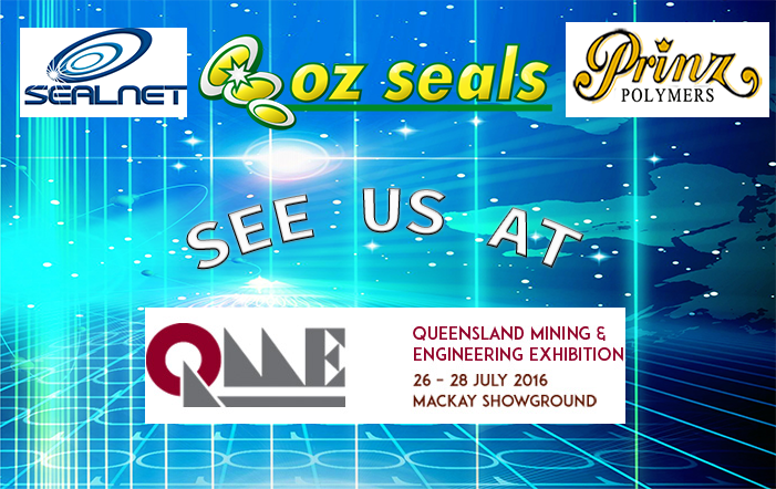 Oz Seals will feature the finest sales at Queensland Mining and Engineering Expo in Mackay in July 2016