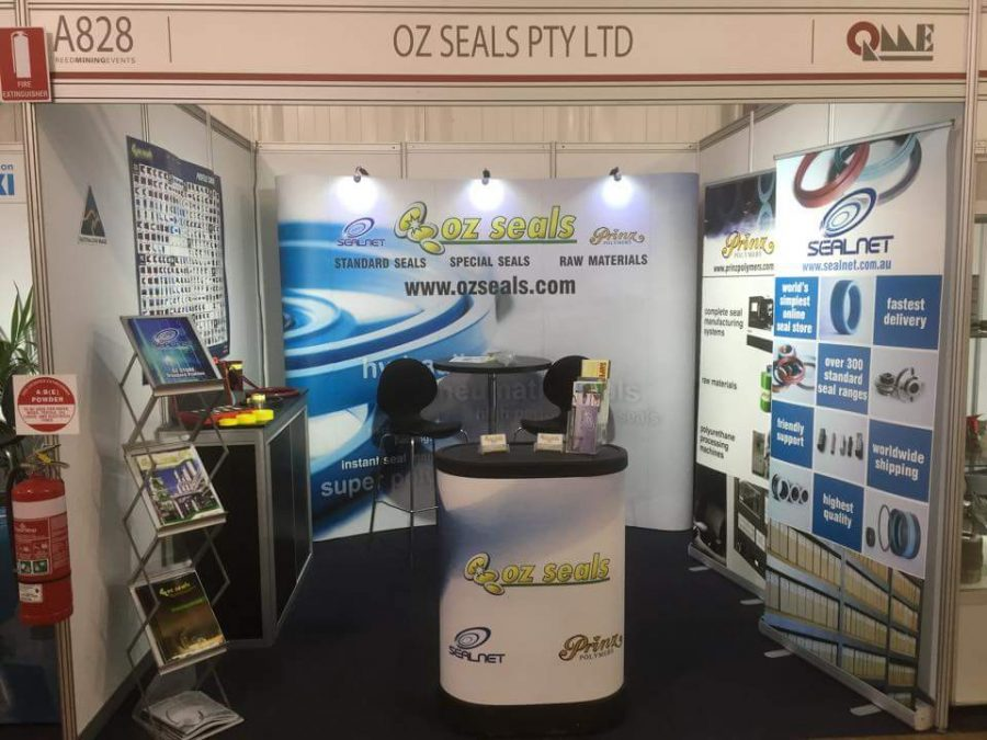 Oz Seals at Queensland Mining and Engineering Exhibition 2016