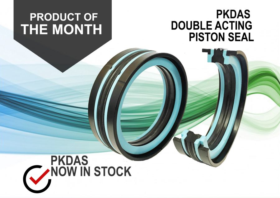 PRODUCT OF THE MONTH: PKDAS DOUBLE ACTING PISTON SEAL