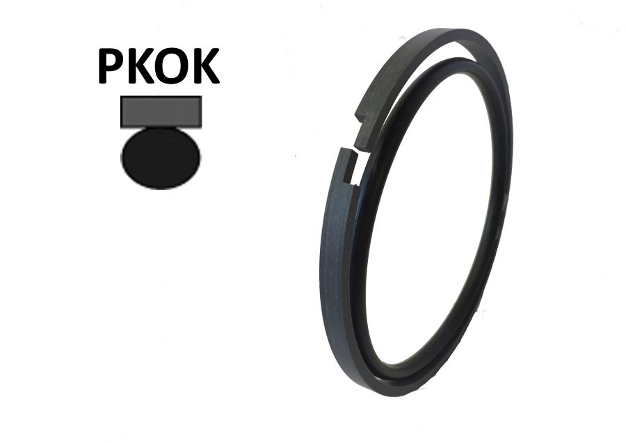 PKOK; DOUBLE ACTING PISTON SEAL
