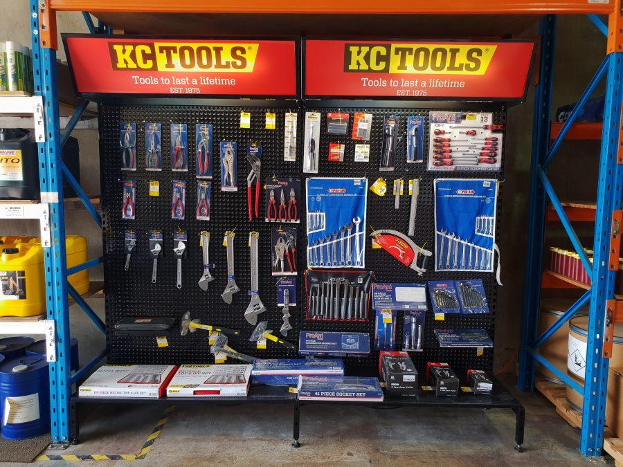 Oz Seals proud distributors of KC TOOLS