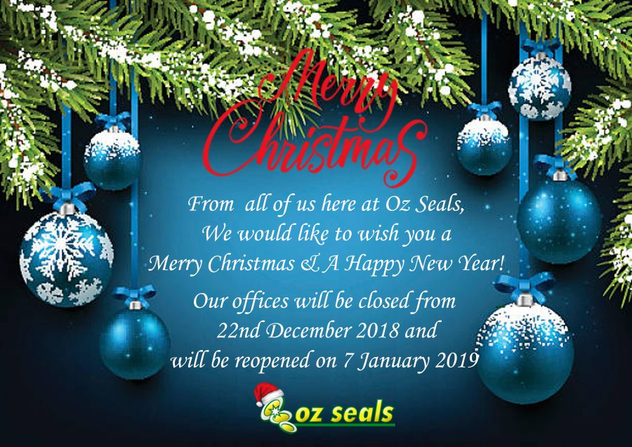 Season's Greetings from Oz Seals!
