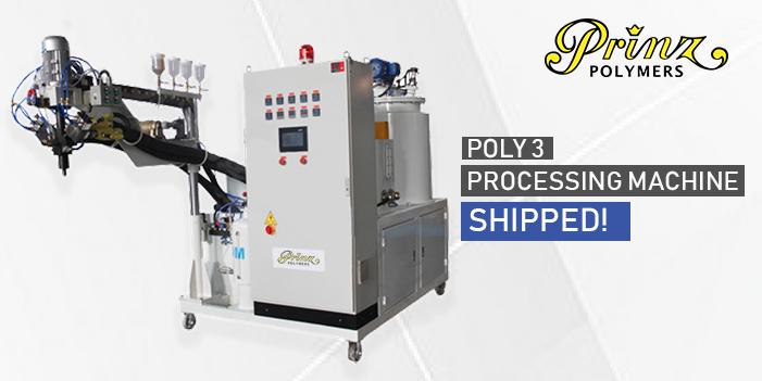 Poly 3 Processing Machine Shipped!