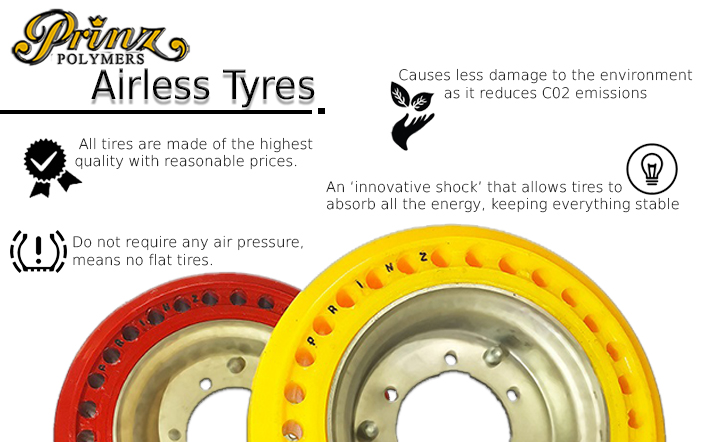 Prinz Polymers Airless Tyres