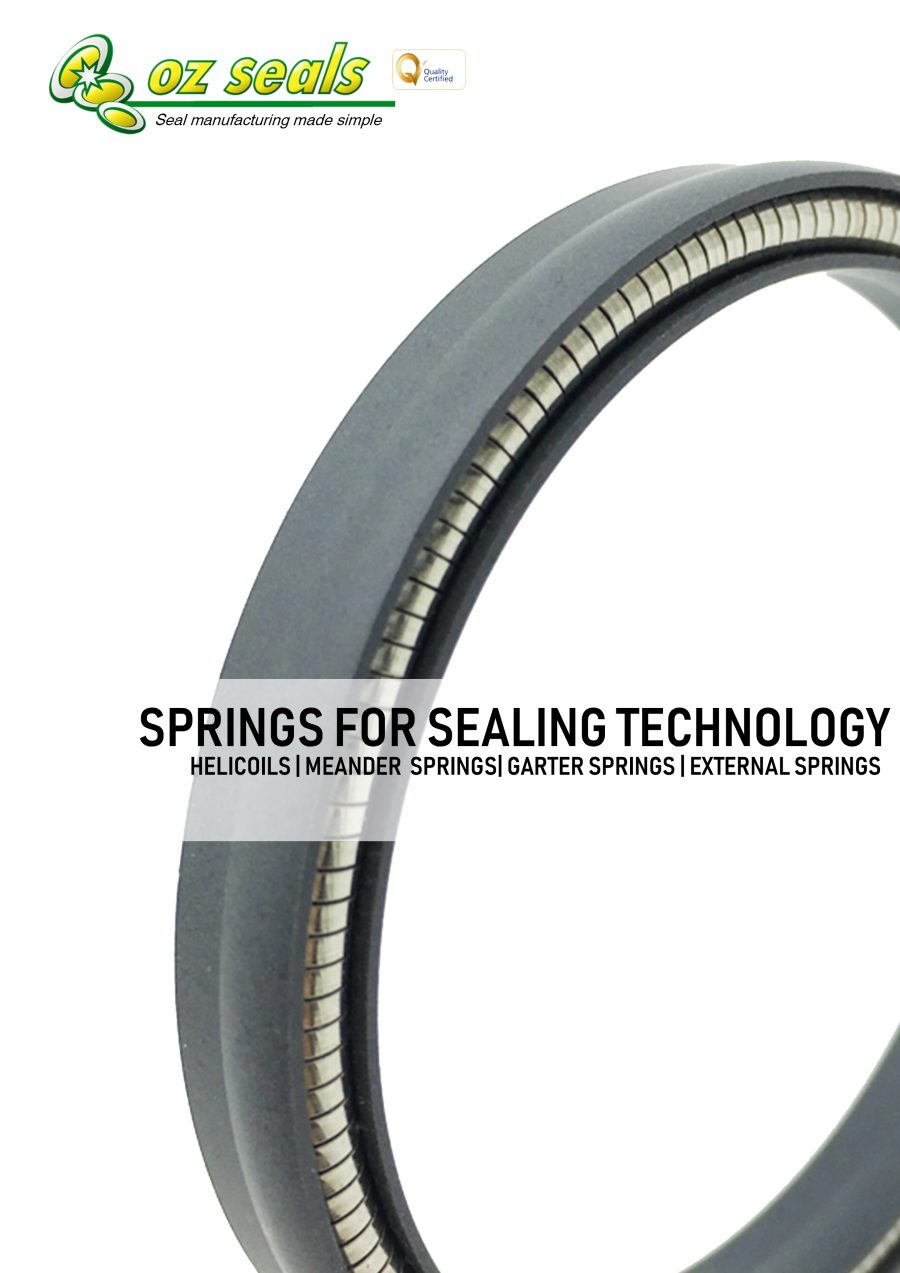 Springs for sealing technology