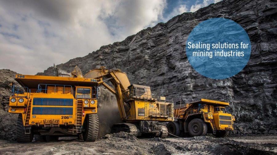 Sealing solutions for underground mining