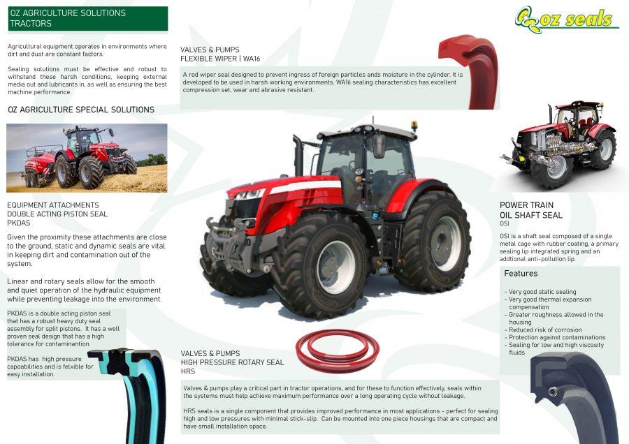 OZ Agriculture Solutions (Tractors)